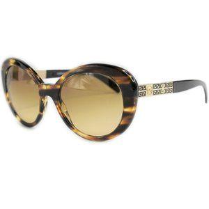 Versace 4318 5202/2L Havana Brown Oval Tinted Lens